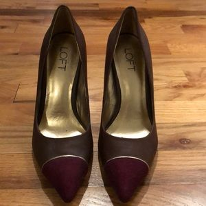 Never worn Loft heels